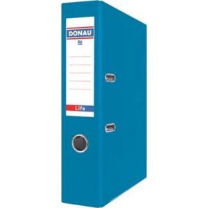 Iratrendező 75mm A4 Donau Life PP/karton neon kék Iratrendezés DONAU 3969001PL-10