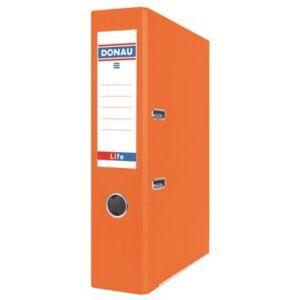 Iratrendező 75mm A4 Donau Life PP/karton neon narancssárga Iratrendezés DONAU 3969001PL-12