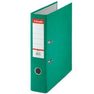 Iratrendező 75mm Esselte A4, karton Rainbow, zöld