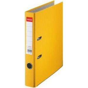 Iratrendező Esselte ECONOMY A4 50mm élvédős sárga Esselte 25db rendelési egység ár 1db-ra