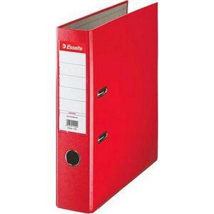 Iratrendező Esselte ECONOMY A4 75mm élvédős piros Esselte 20db rendelési egység ár 1db-r