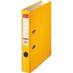 Iratrendező Esselte RAINBOW A4 50mm élvédős sárga Esselte 20db rendelési egység ár 1db-ra