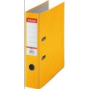 Iratrendező Esselte RAINBOW A4 75mm élvédős sárga Esselte 20db rendelési egység ár 1db-ra