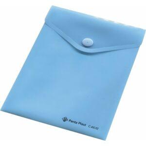 Irattartó tasak A6 Panta Plast patentos 160mik PP műanyag paszt.kék Iratrendezés PANTA PLAST 0410-0052-03