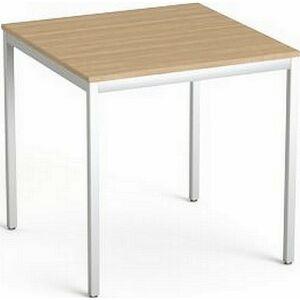Asztal Irodai Mayah Freedom SV-37 kőris fémlábbal 75x75 cm