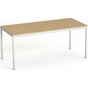 Asztal Irodai Mayah Freedom SV-40 kőris fémlábbal 75x170 cm