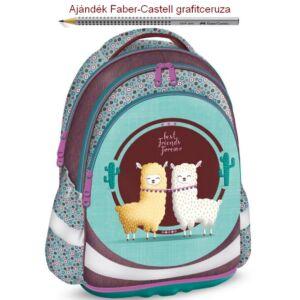 Iskolatáska Ars Una ergonómiku Best Friends (915) 19 Hátizsák kamaszokn Anatómiai - M hátizsák prémium minőség