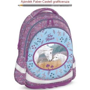 Iskolatáska Ars Una ergonómiku Fairy Manor Anatómiai - M hátizsák prémium minőség