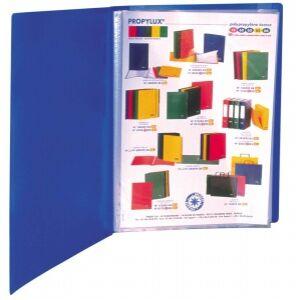 Bemutatómappa A4 40zseb kék Viquel Standard Iratrendezés VIQUEL 508002-04