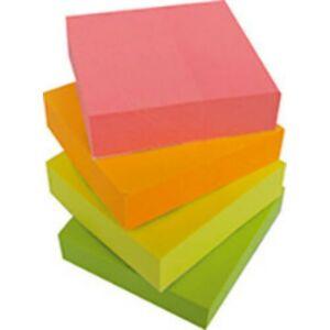 Jegyzettömb 38x51 Office Art öntapadós 50 lap/szín 4 db/cs vegyes