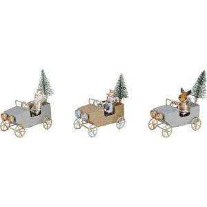 karácsonyi dísz szánkó 20' mikulás, hóember, mikulás exkluzív termék