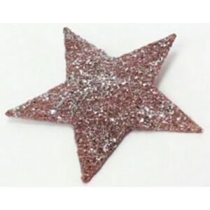 Karácsonyi ablakdísz 25cm csillag sziszál 36901