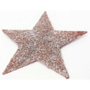 Karácsonyi ablakdísz 40cm csillag sziszál 36903