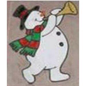 Karácsonyi ablakfólia vegyes dombornyomású karácsonyi mitával
