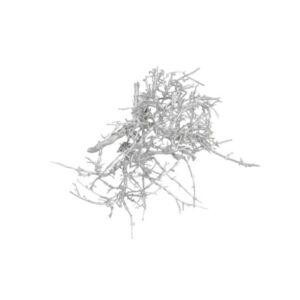Karácsonyi dekoráció 20' Gyökér 250gr, ezüst