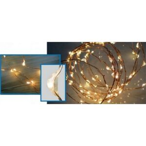 Égősor fényfűzér 20' Micro LED-es kültéri