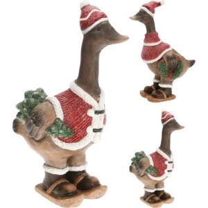 Karácsonyi kacsa 45cm 2féle mintával