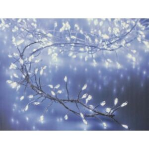 Égősor ledes fényfűzér 720 led-es 7, 2m-es beltéri hidegfényű fűzér Karácsonyi ledes fényfűzér dekoráció