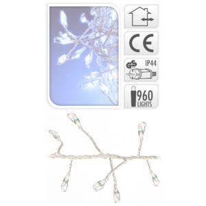 Égősor ledes fényfűzér 960 beltéri fényű 960led-es fűzér Karácsonyi ledes fényfűzér dekoráció