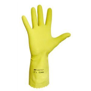 Latex gumikesztyű sárga 8-as méret 10pár/csomag