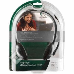 Fülhallgató Logitech H110 sztereó fejhallgató