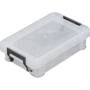 Műanyag tároLódoboz Allstore átlátszó, 0,55 liter
