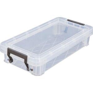Műanyag tároLódoboz Allstore átlátszó, 0,75 liter