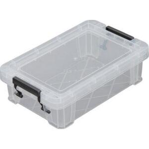 Műanyag tároLódoboz Allstore átlátszó, 0,8 liter