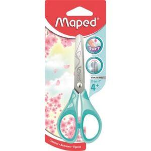Olló 13cm Maped Essentials Soft iskolai olló ve. pasztell színek Irodai kiegészítők MAPED 464411
