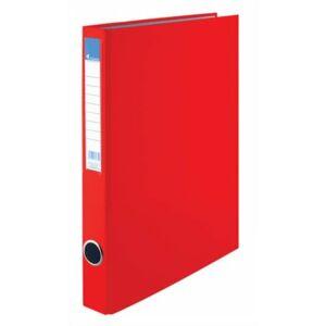 Gyűrűskönyv 4gy Victoria 35mm A4 PP/karton piros Iratrendezés Victoria