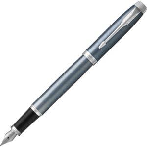 Parker IM töltőtoll kék-szürke tolltest