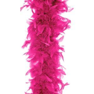 Party dekoráció boa neon pink színű