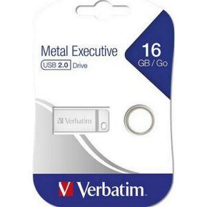 Pendrive 16GB USB 2.0 Exclusive Metal VERBATIM