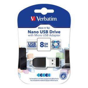 Pendrive 8GB Verbatim Nano 49820