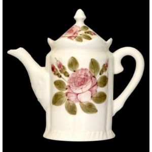 Porcelán kanna rózsás Romantik porcelán