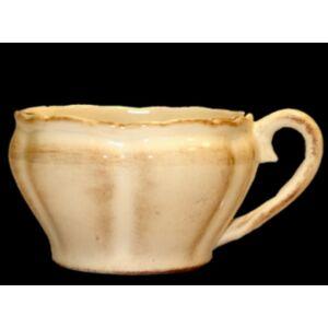 Kerámia kávés csésze kézzel festett romantikus