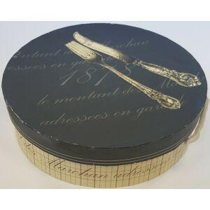 Kerámia tányér dobozban tányér szett