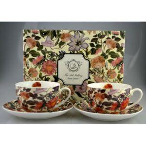 Porcelán teás készlet 300ml Floral Dream, 2x300ml-es díszdobozban Floral Dream kollekció