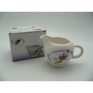 Porcelán tejkiöntő Levendulás Levendulacsokor mintás porcelán tároló Porcelán szett Lavender