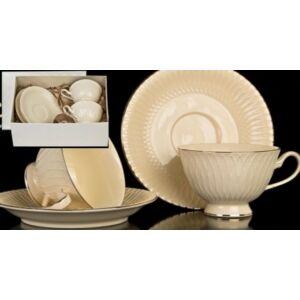 Porceláncsésze+alj 250ml Sari, 2 személyes dobozban