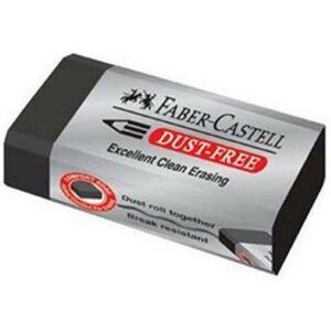 Faber-Castell radír forgácsmentes fekete dust-free prémium minőségű termék 187124