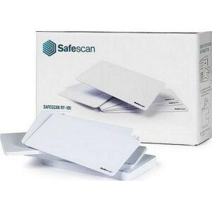 RFID kártya Safescan RF-100 UBSCTA8010 beléptetőrendszerhez, fehér 25 db