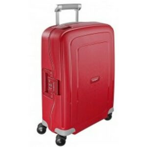 Samsonite kabinbőrönd 55/20 S'CURE 40x55x20 piros 1235 SPINNER 4kerekű 55/20 CABIN