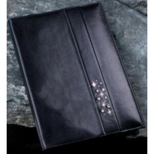 Swarovski bőr naptártok MADE WITH SWAROVSKI ELEMENTS 26x17cm