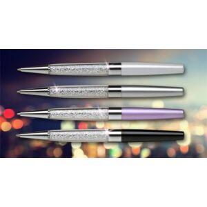Swarovski toll ezüst 20 Alul Fehér Kristályokkal, 13,5 Cm Made With Swarovski Elements