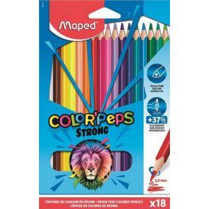 Színes ceruza 18 Maped Color'Peps Strong háromszögletű 18színű Írószerek MAPED 862718
