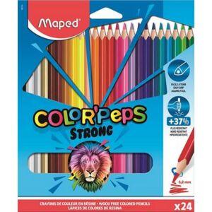 Színes ceruza 24 Maped Color'Peps Strong háromszögletű 24színű Írószerek MAPED 862724