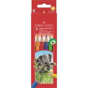 Faber-Castell színes ceruza 6db Jumbo 110 906 111 206