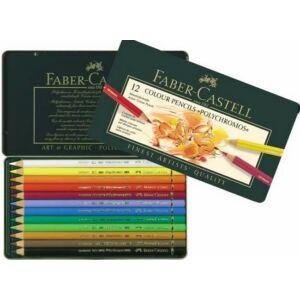 Faber-Castell művészceruza 12db PolyChromos művész színes Art