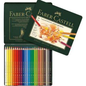 Faber-Castell művészceruza 24db -os AG-PolyChromos művész színes Art